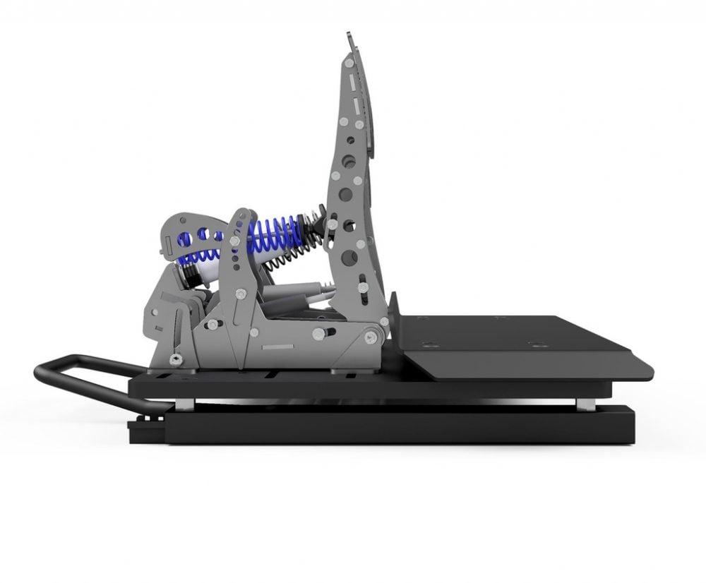 Pedal slider baseplate