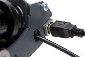 shop.gperformance.eu - Heusinkveld Engineering Sim Pedals Sprint electronics detail connectors