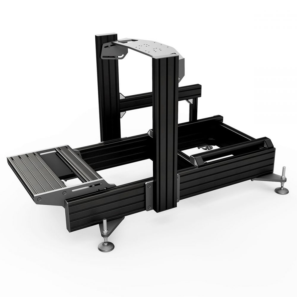 shop.gperformance.eu - Sim-Lab P1-X professional sim racing chassis front mount black - G-Performance