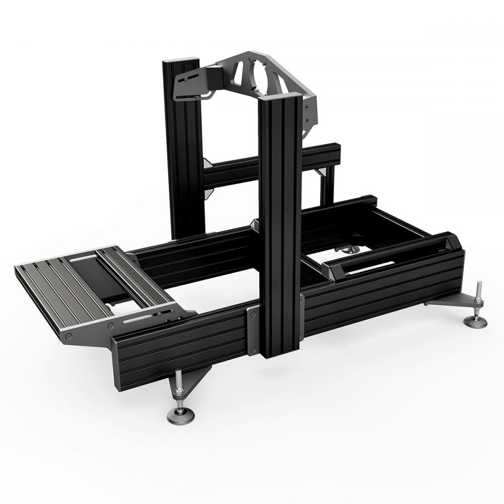 shop.gperformance.eu - Sim-Lab P1-X ultimate sim racing chassis front mount black - G-Performance