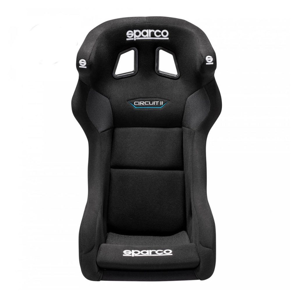 shop.gperformance.eu - Sparco Circuit II QRT rally seat FIA homologated front view