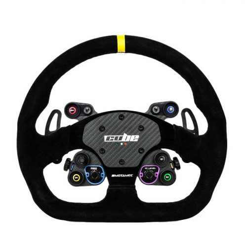 shop.gperformance.eu - Cube ontrols GT-Lite Sim Racing Wheel for OSW Direct Drive Wheel System - front