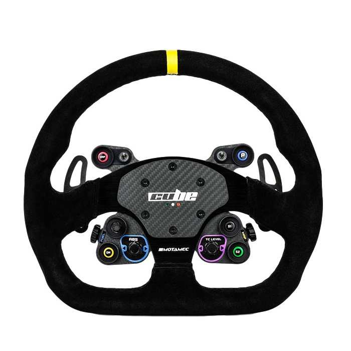 shop.gperformance.eu - Cube ontrols GT-Lite Sim Racing Wheel for OSW Direct Drive Wheel System - front