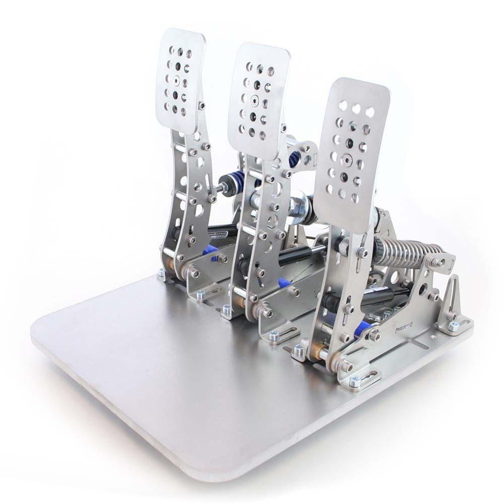 shop.gperformance.eu - Heusinkveld Sim Pedals Ultimate_Pro Baseplate with pedals iso