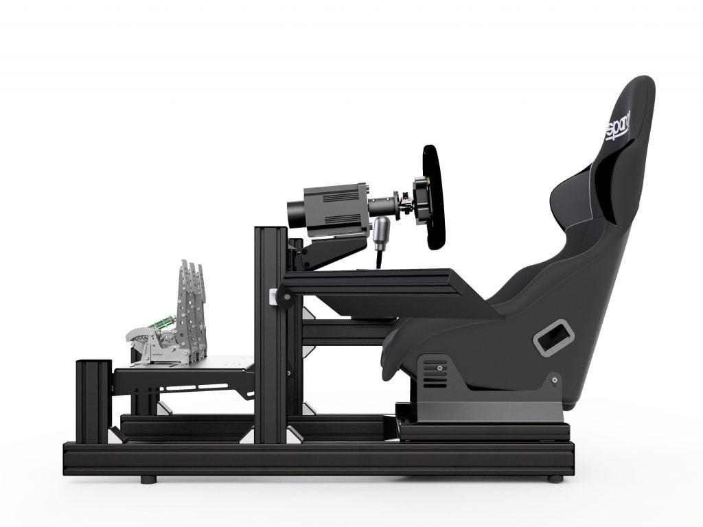 shop.gperformance.eu - Sim-Lab Sim Racing Keyboard tray installed on GT1 EVO
