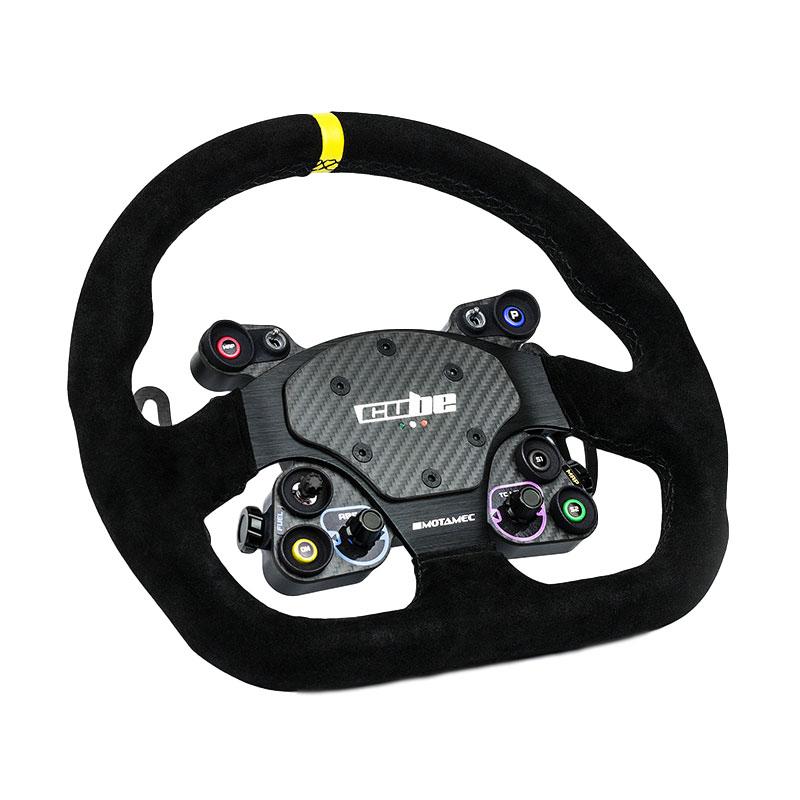 shop.gperformance.eu - GT Lite Sim Racing Wheel iso view