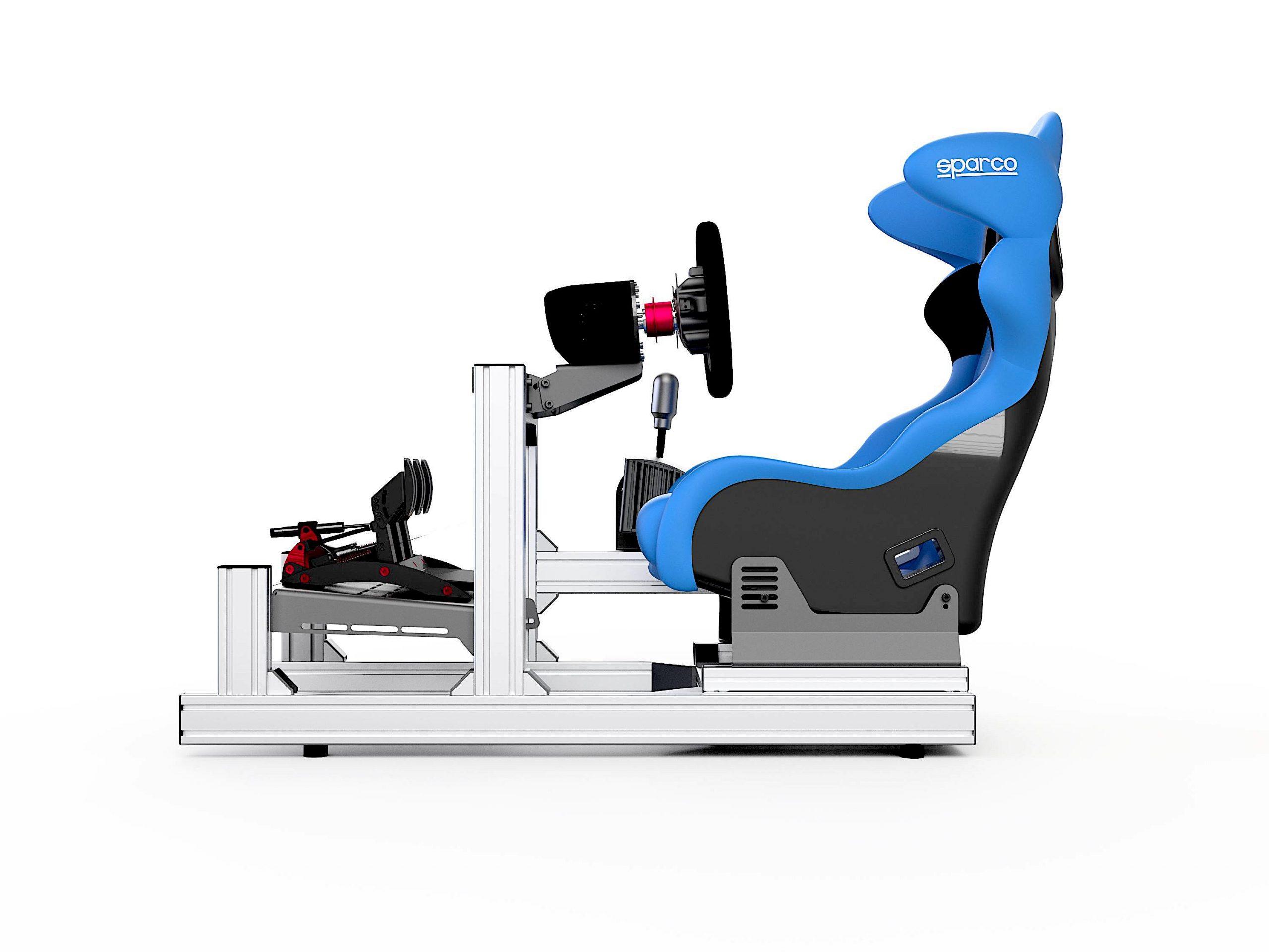 shop.gperformance.eu - Sim-Lab GT1 Evo Chassis full simulator iso view 2