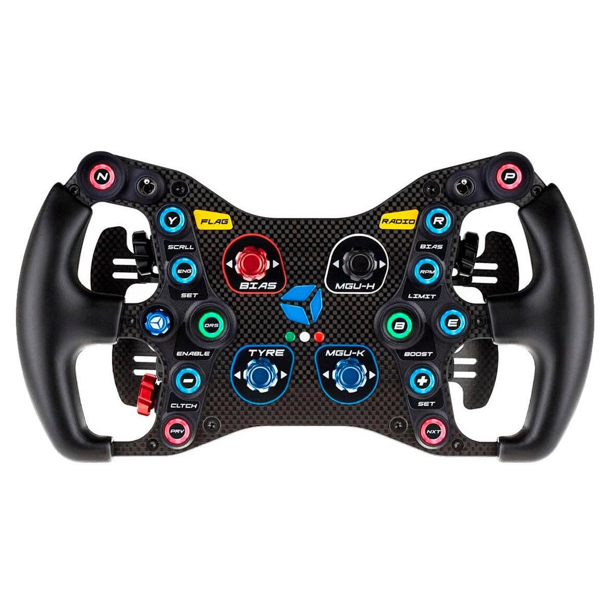 shop.gperformance.eu - Cube Controls Formula Pro sim racing eSports wheel - front view