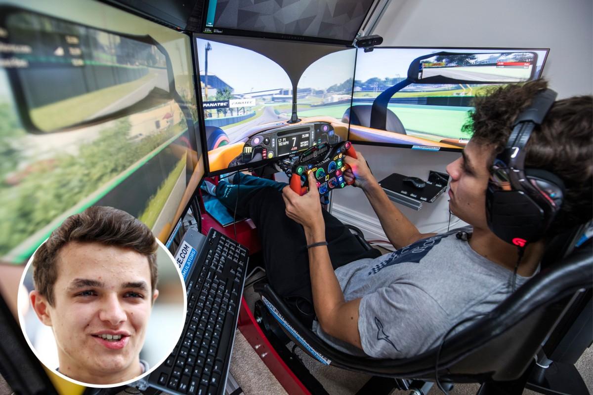 shop.gperformance.eu - Cube Controls Formula Pro simracing eSports wheel - Lando Norris - Formula 1 driver - G-Performance
