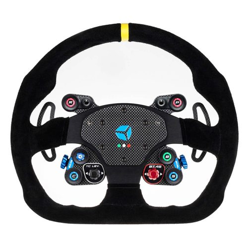 shop.gperformance.eu - Cube Controls GT Pro MOMO Classic - USB sim racing eSports wheel - front view - G-Performance