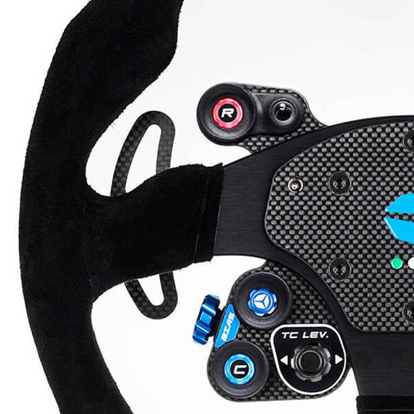 shop.gperformance.eu - Cube Controls GT Pro MOMO Classic - detail carbon fiber plate - G-Performance