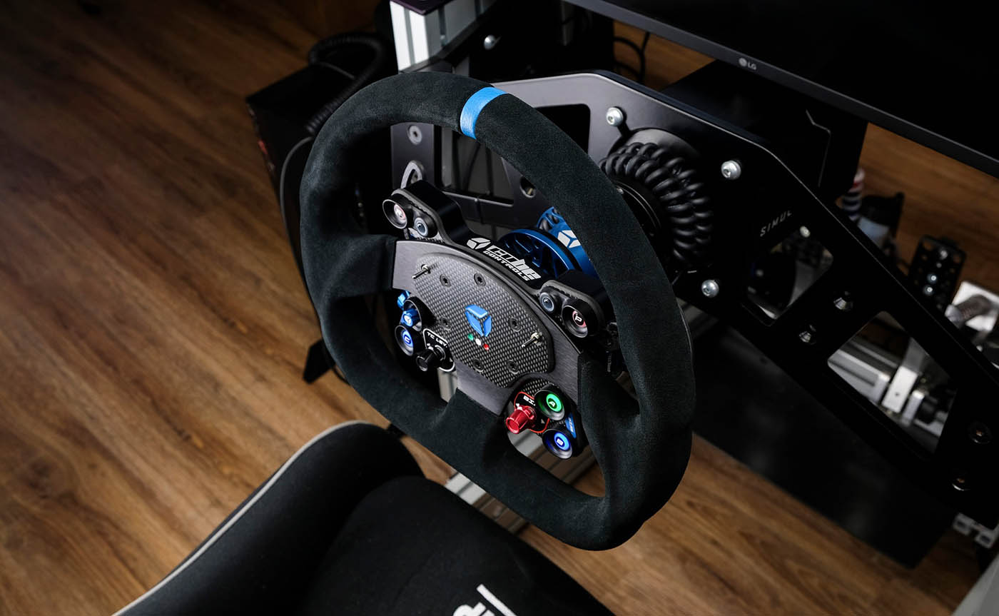 Cube Controls GT Pro OMP - mounted on rig - G-Performance