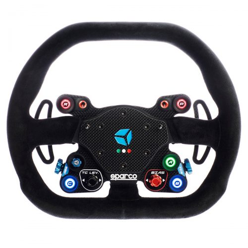 shop.gperformance.eu - Cube Controls GT Pro Sparco Classic USB custom carbon fiber sim racing wheel G-Performance