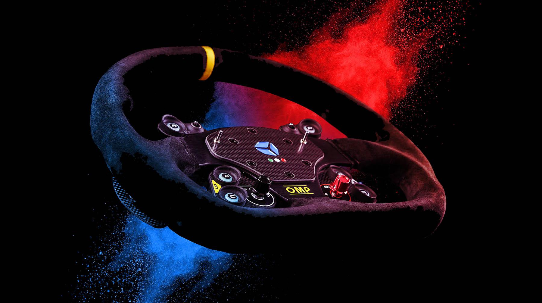 shop.gperformance.eu - Cube Controls GT Pro Sparco Classic - USB sim racing eSports wheel - G-Performance