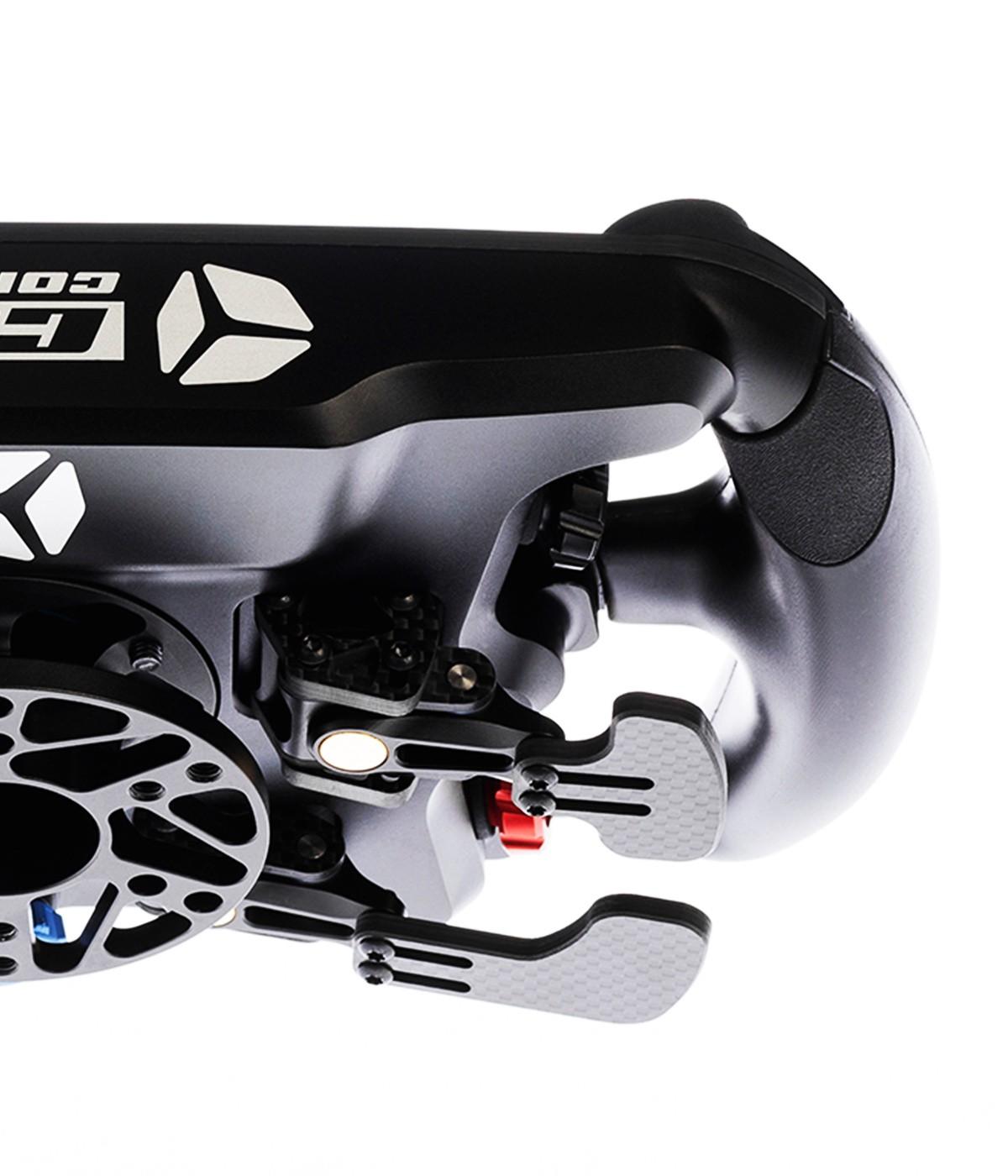 shop.gperformance.eu - Cube Controls Formula CSX 2 PC USB pure carbon fibre professional ultimate sim racing wheel Fanatec Logitech Thurstmaster Accuforce SimuCube 2 G-Performance