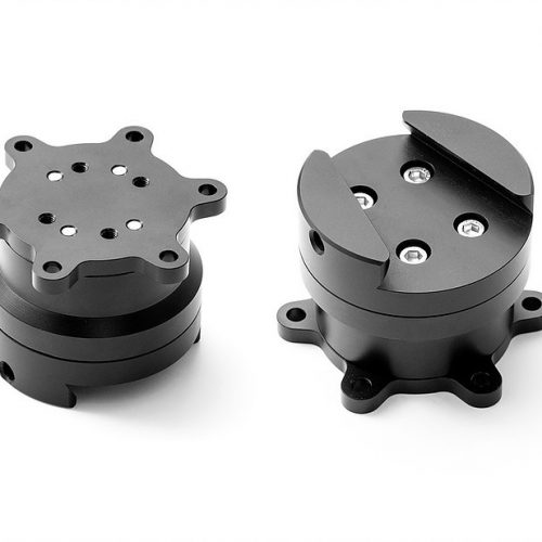 shop.gperformance.eu - SimuCube 2 quick release wheel side kit assembled - G-Performance sim racing hardware