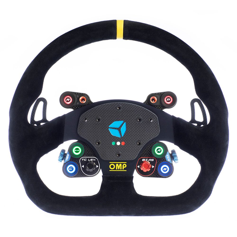 shop.gperformance.eu - Cube Controls GT Pro OMP Wireless eSports sim racing wheel for SimuCube 2 Sport Pro Ultimate