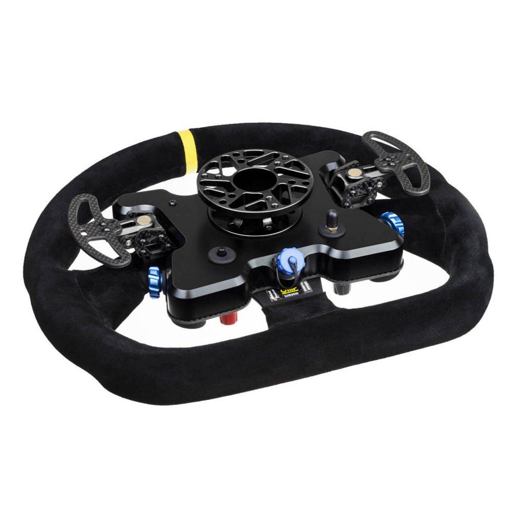 shop.gperformance.eu - Cube Controls GT Pro OMP Wireless - eSports sim racing wheel - rear view