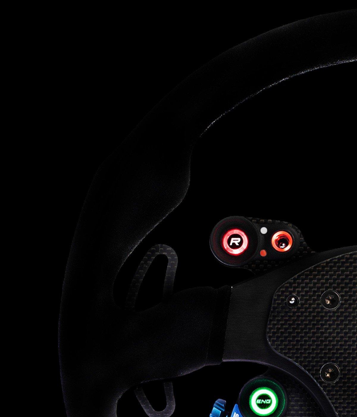 shop.gperformance.eu - Cube Controls GT Pro Sparco Wireless immersive backlit buttons - G-Perfomance