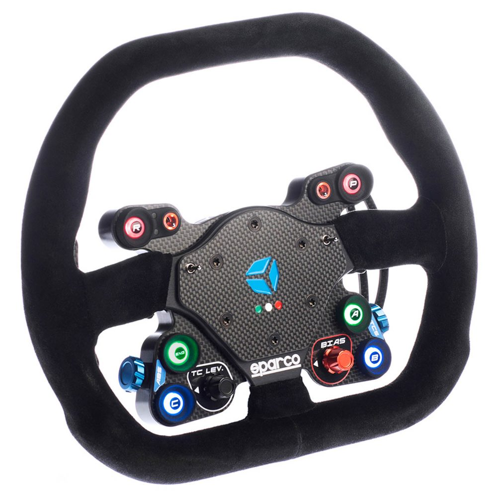 shop.gperformance.eu - Cube Controls GT Pro Sparco Wireless professional eSports sim racing wheel iso