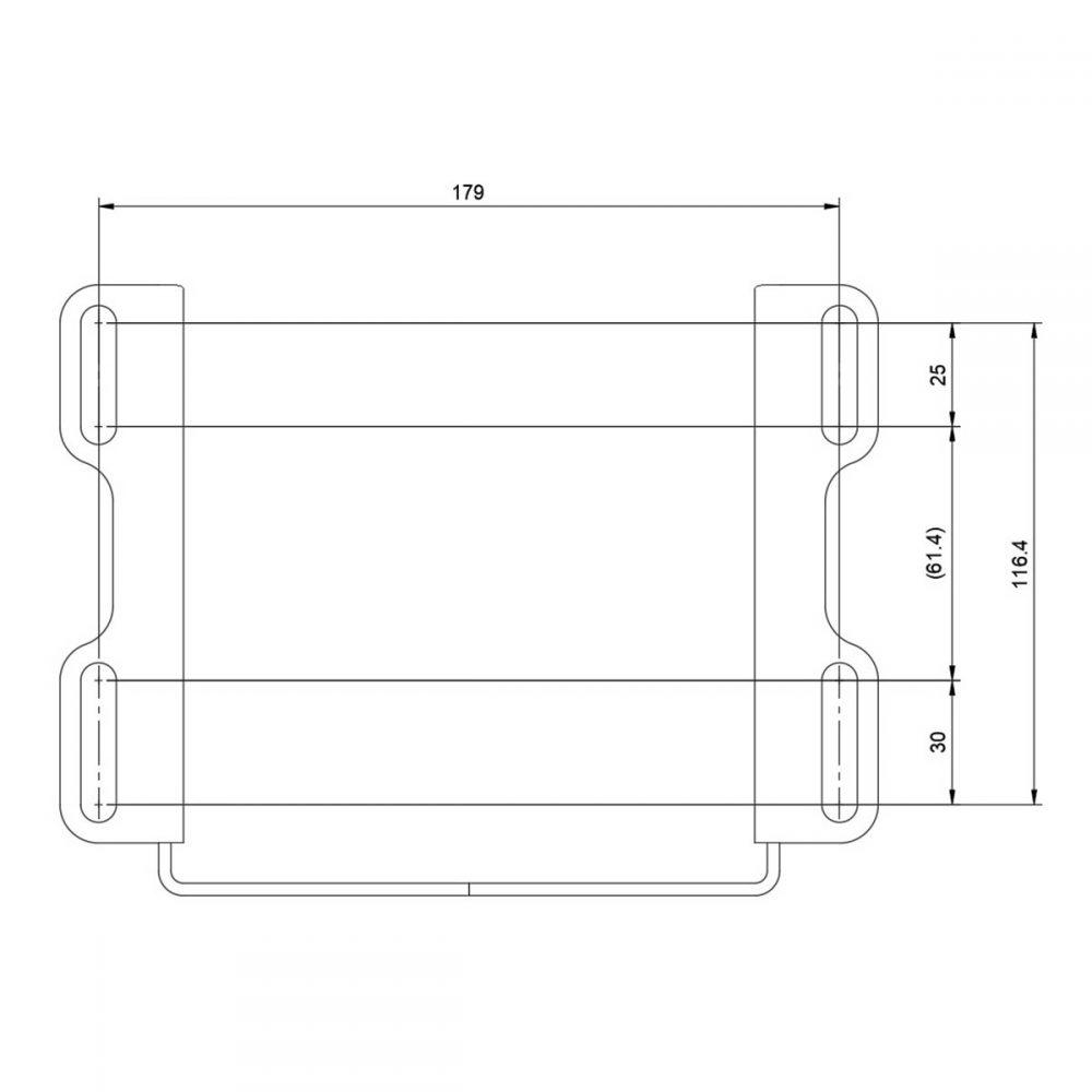 shop.gperformance.eu - Wheel deck mount dimensions