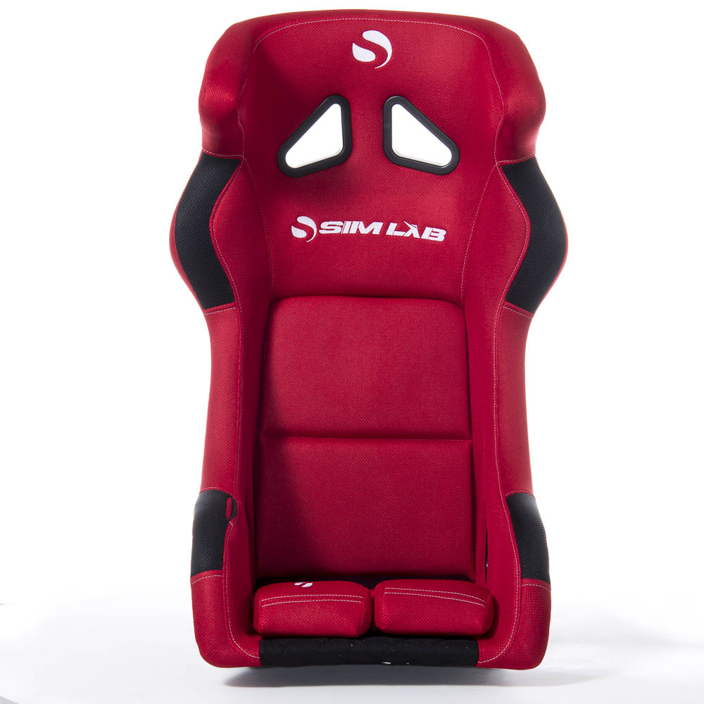 shop.gperformance.eu - Sim-Lab SPEED 1 bucket seat red front