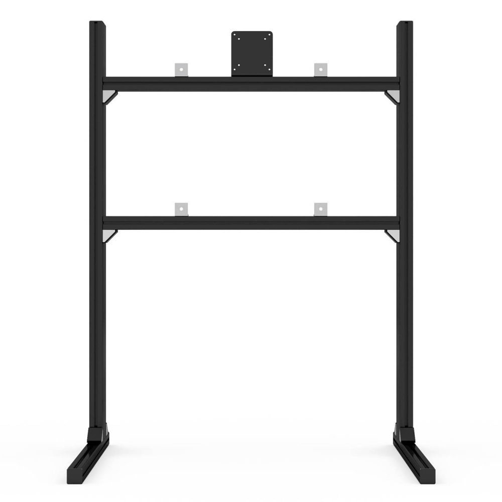 shop.gperformance.eu - Sim-Lab single monitor TV stand black front
