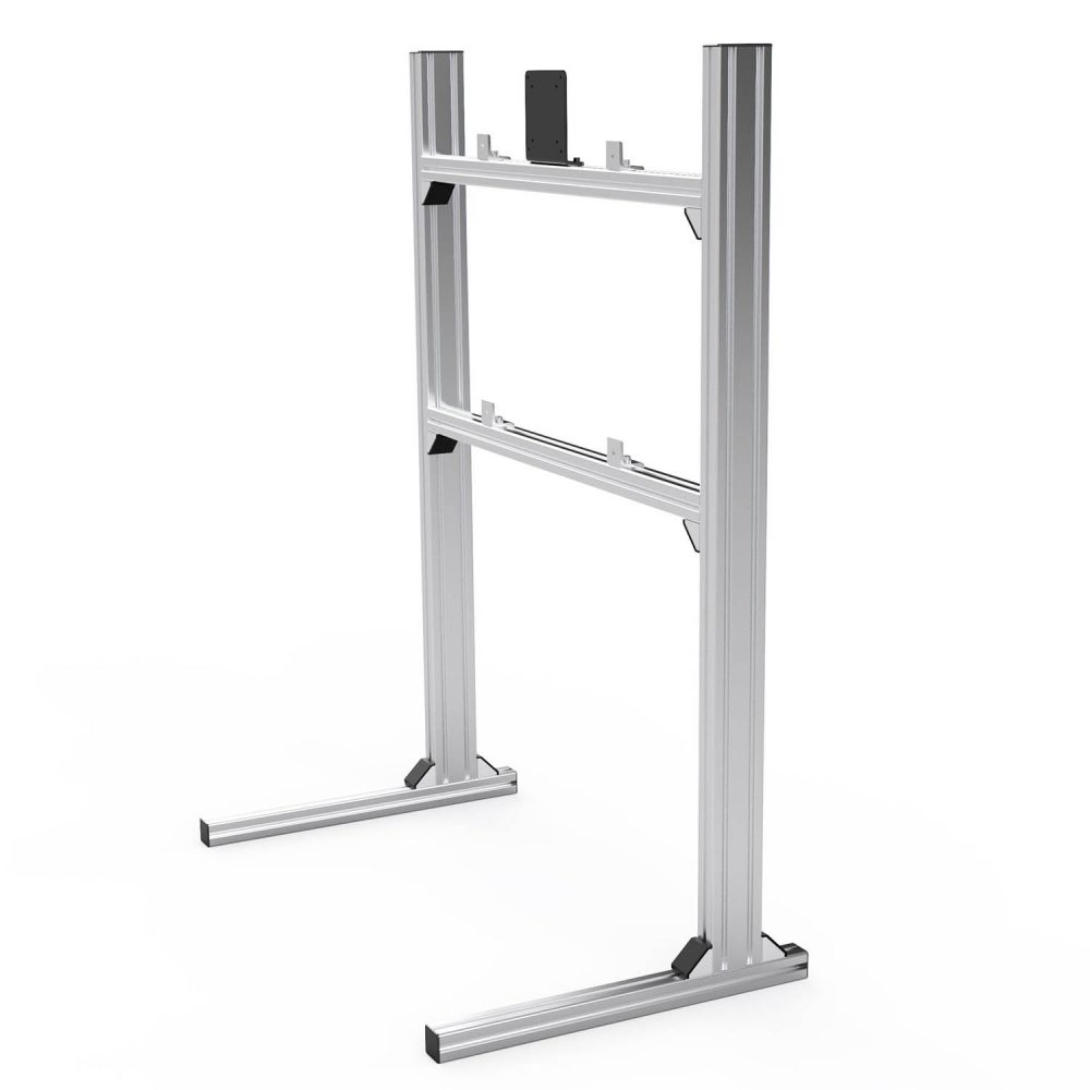 shop.gperformance.eu - Sim-Lab single monitor TV stand grey iso