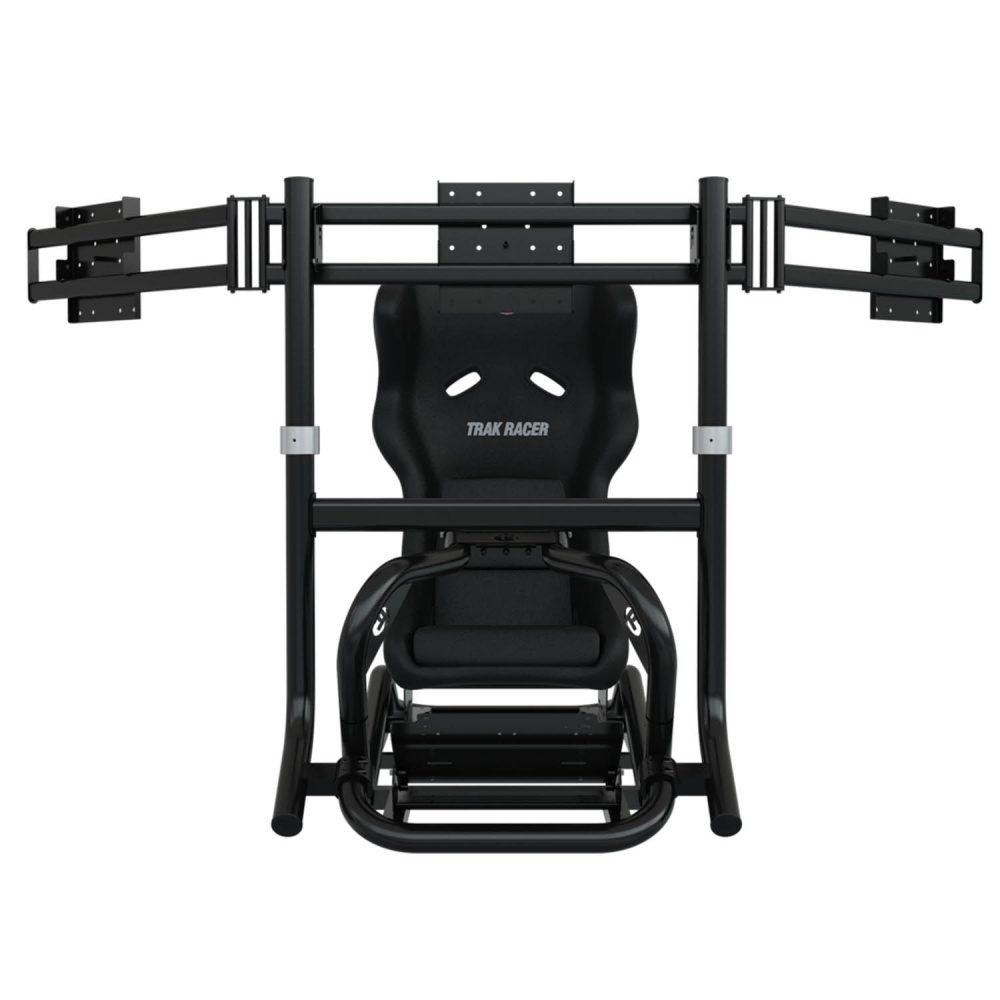 shop.gperformance.eu - Trak Racer TR8 Triple monitor mount installed iso 5