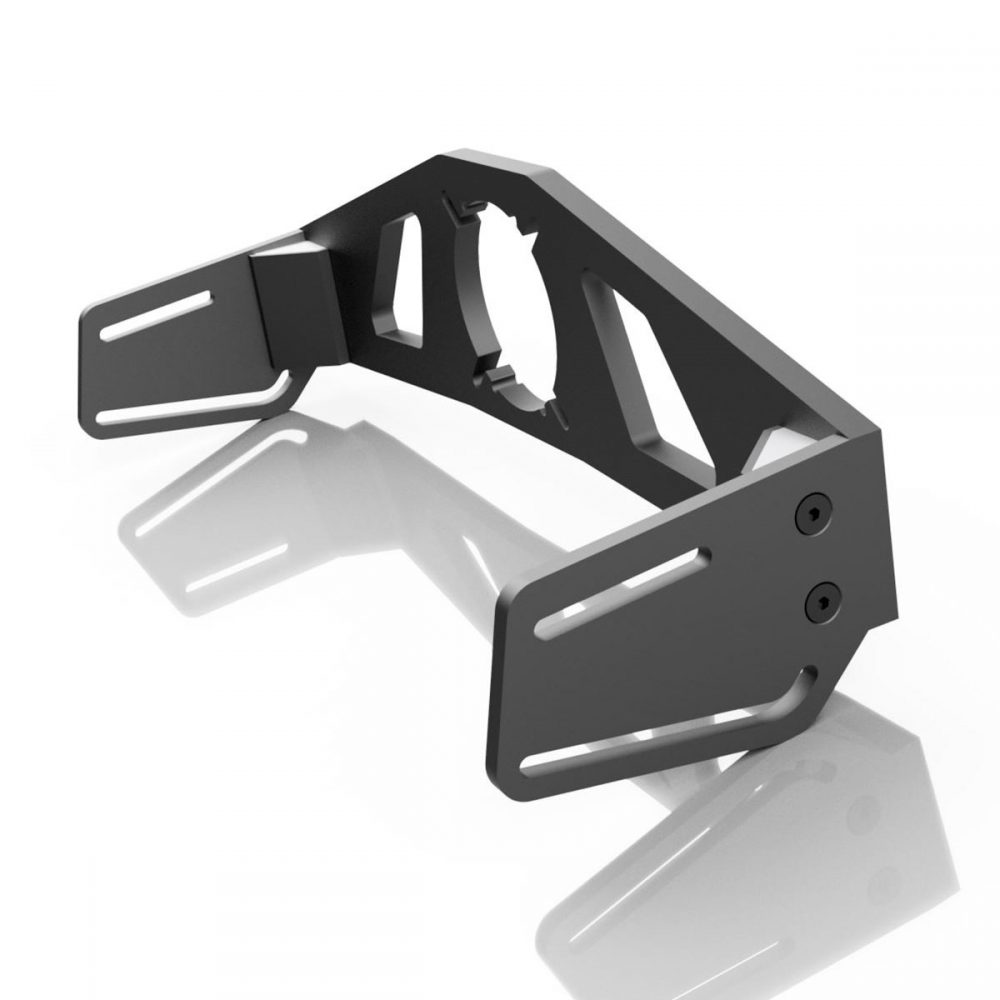 shop.gperformance.eu - Sim-Lab front mounting bracket iso rear