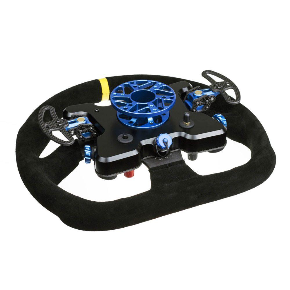 Cube Controls GT Pro MOMO Wireless - blue - rear view - G-Performance