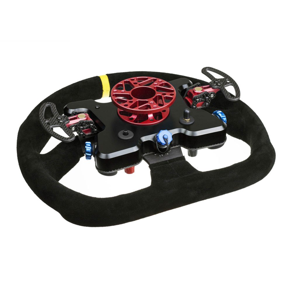 Cube Controls GT Pro MOMO Wireless - red - rear view - G-Performance