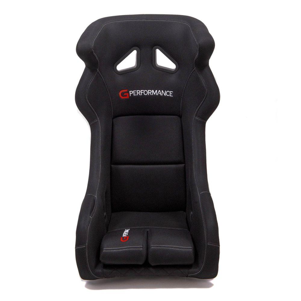 shop.gperformance.eu - G-Performance GP01 simracing GT style seat - front view