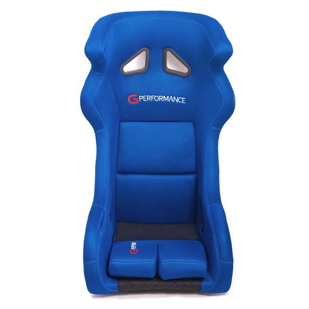 shop.gperformance.eu - G-Performance R01 seat blue -s- front view