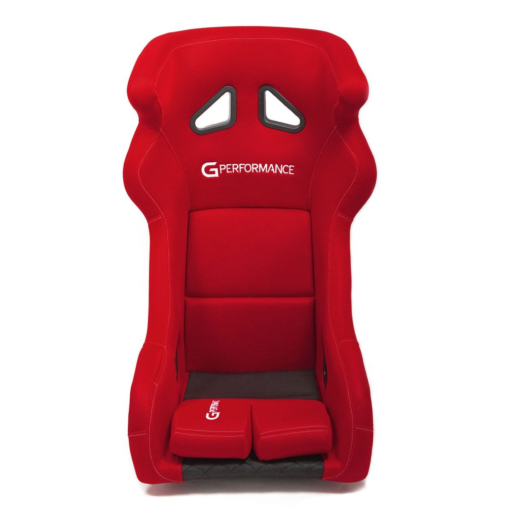 shop.gperformance.eu - G-Performance R01 seat red -s- front view