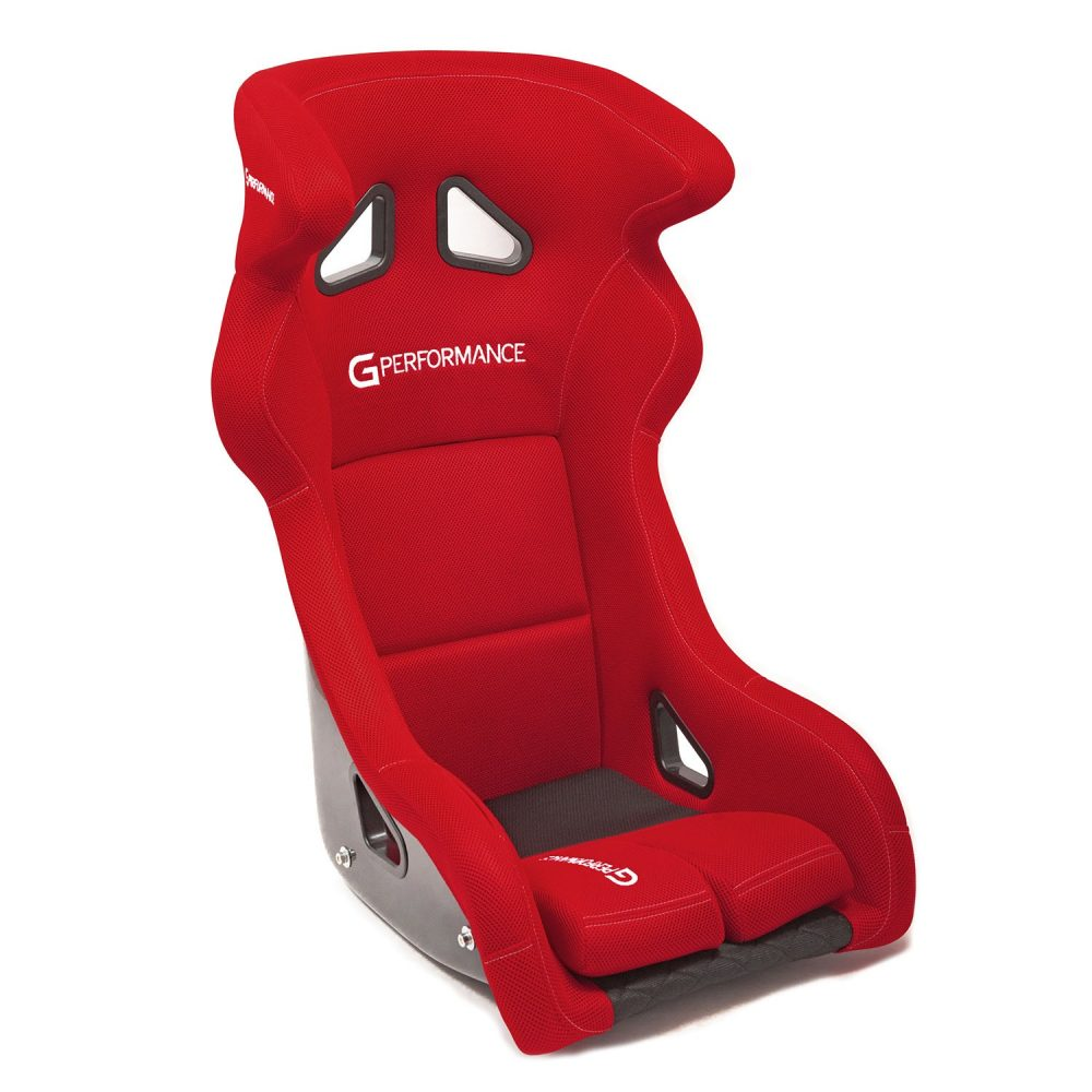 shop.gperformance.eu - G-Performance R01 seat red -s- iso view
