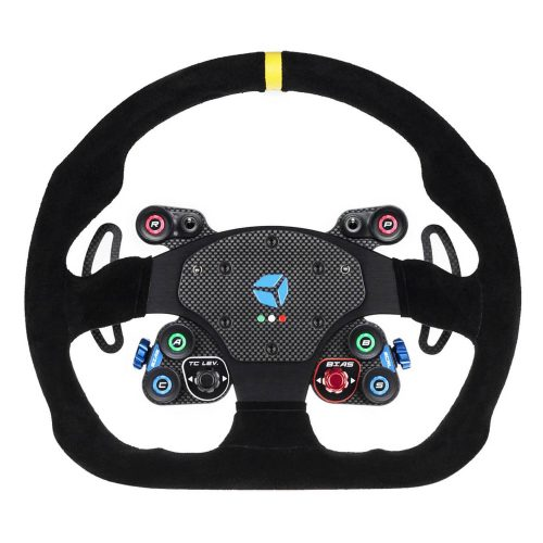 shop.gperformance.eu - GT Pro MOMO Wireless - eSports sim racing wheel - front view - G-Performance