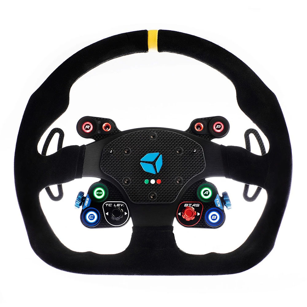 shop.gperformance.eu - GT Pro Momo Wireless sim racing wheel front - G-Performance