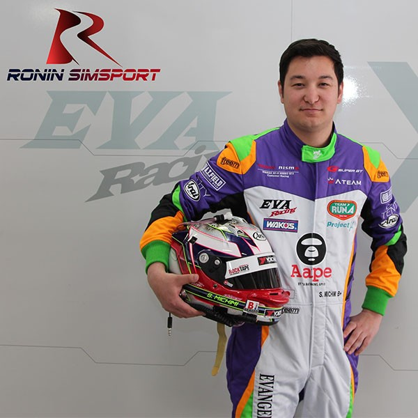 Shinya Sean Michimi - Ronin SimSport - square