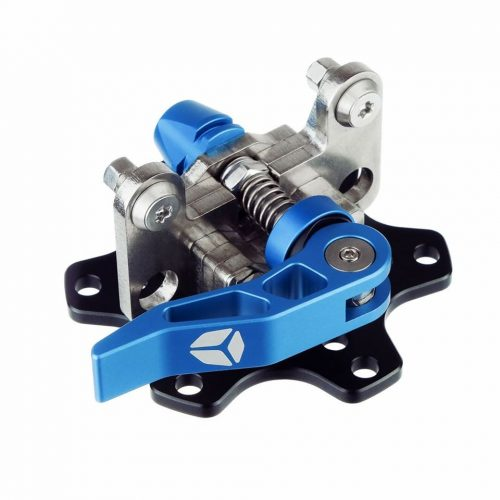 shop.gperformance.eu - Cube Controls Universal Quick release - Base side - Blue - G-Performance