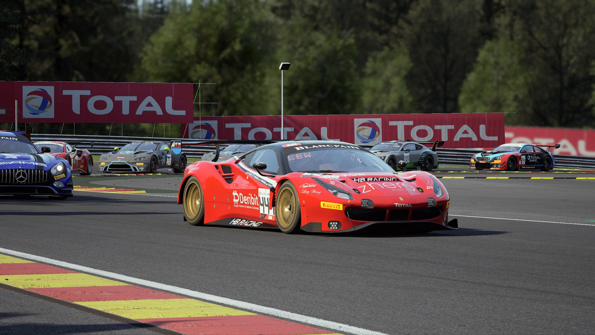 shop.gperformance.eu - Assetto Corsa Competizione ingame screenshot - Ferrari GT3 - G-Performance