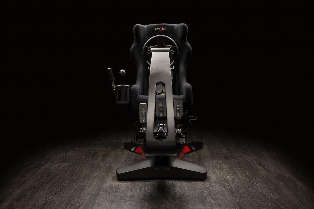 shop.gperformance.eu - IMSIM professional 3DOF motion simulator - front view
