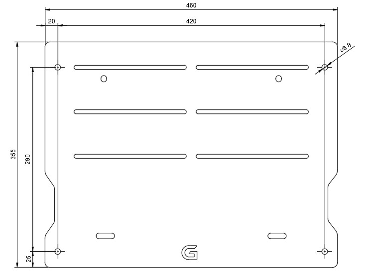 G-Performance baseplate