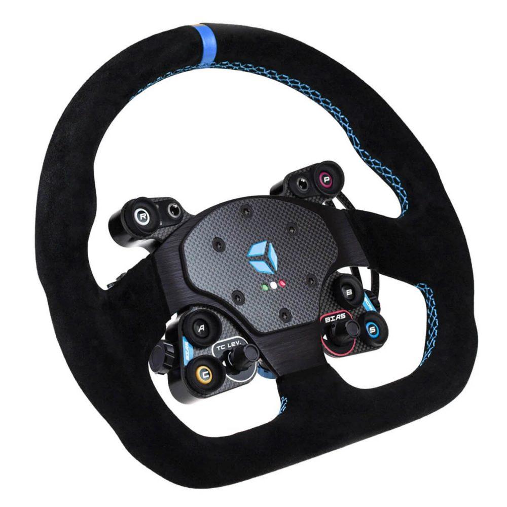 shop.gperformance.eu - Cube Controls GT Sport Wireless - eSports wheel with Cube Controls rim - iso view