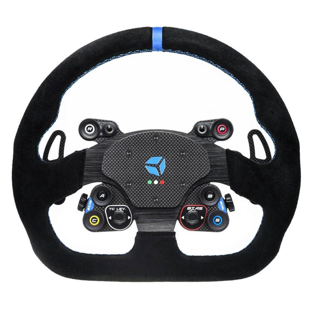 shop.gperformance.eu - Cube Controls GT Sport Wireless - sim racing eSports wheel with Cube Controls rim - front view