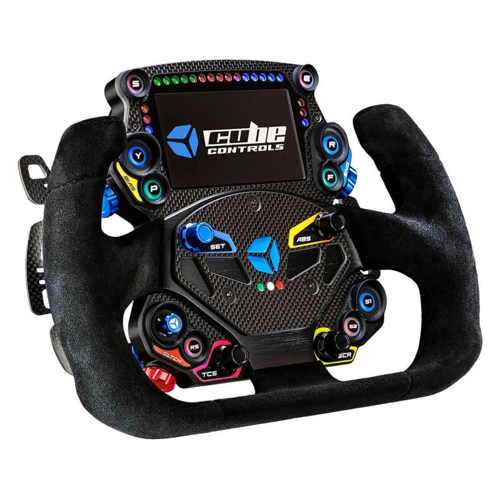 shop.gperformance.eu - Cube Controls GT-X Grand Tourer wheel - iso view - G-Performance