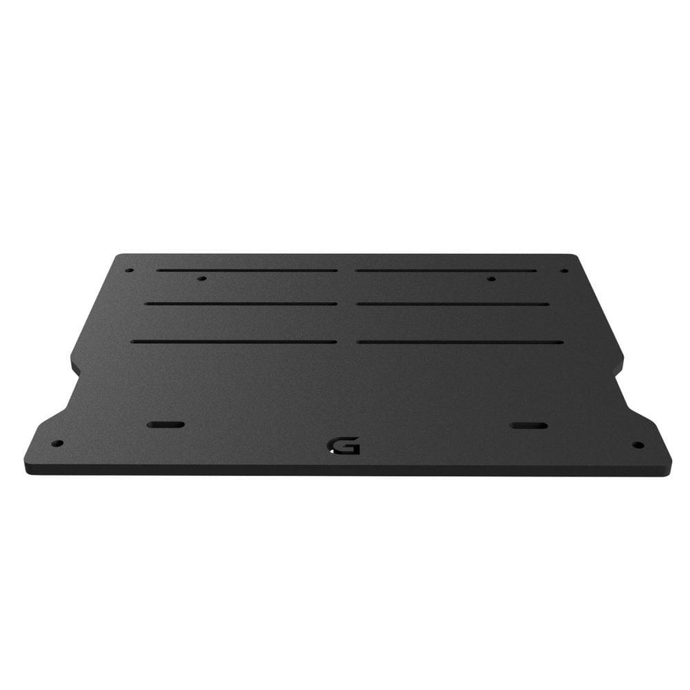 shop.gperformance.eu - G-Performance pedal slider baseplate for Heusinkveld Sprint_Ultimate pedals - front view 2