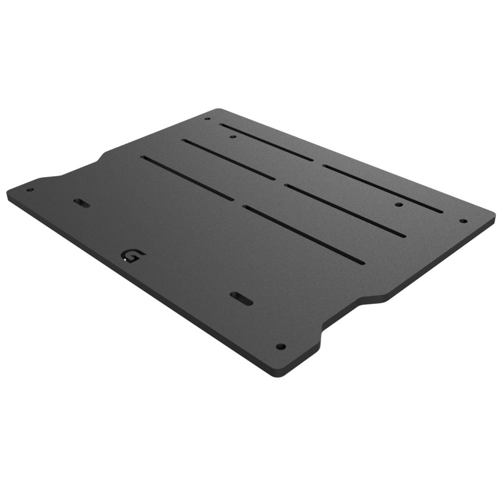 shop.gperformance.eu - G-Performance pedal slider baseplate for Heusinkveld Sprint_Ultimate pedals - iso view