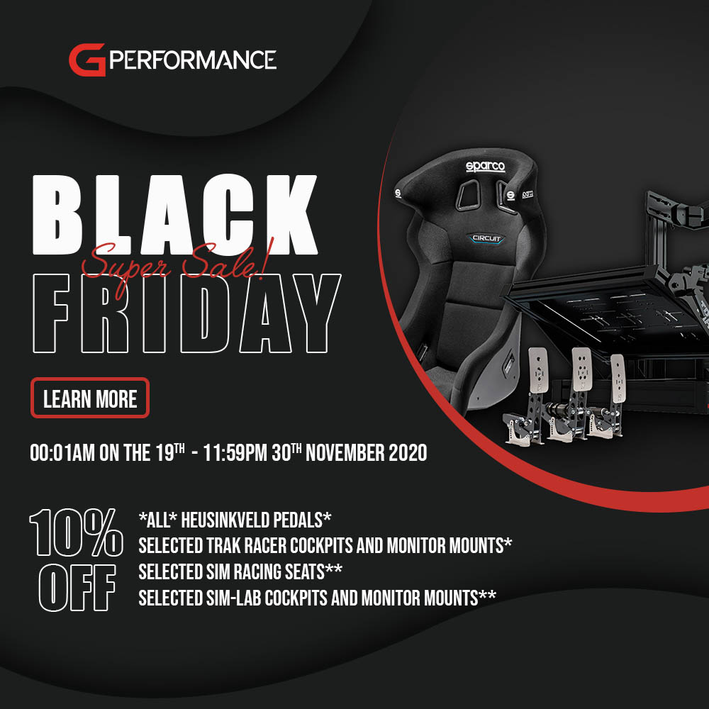 shop.gperformance.eu - 2020 G-Performance Black Friday sale - square - Learn more