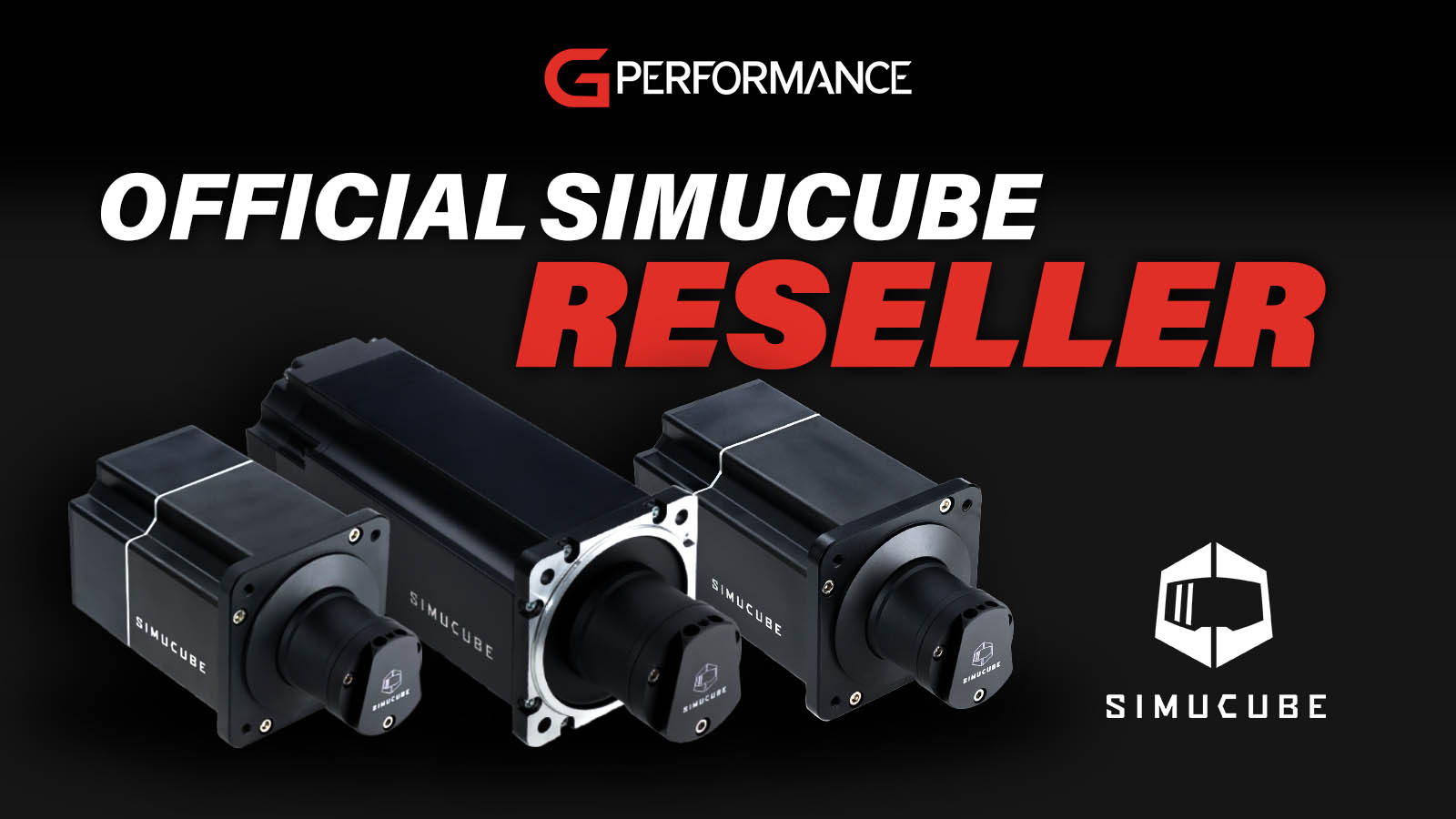 G-Performance announce official Simucube Reseller Status